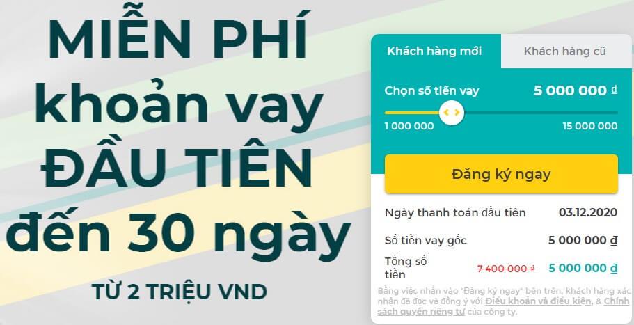 ưu điểm của vay tiền online Tamo