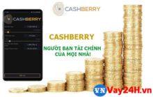 Đăng ký vay tiền Cashberry