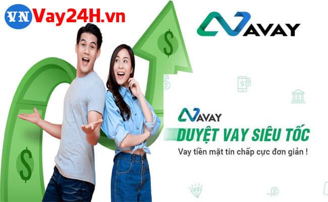 App vay tiền online trả góp hàng tháng Avay