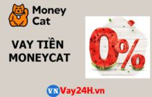 Vay tiền online MoneyCat lãi suất 0%