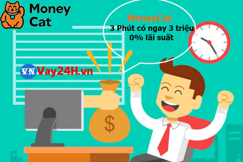 App vay tiền uy tín MoneyCat