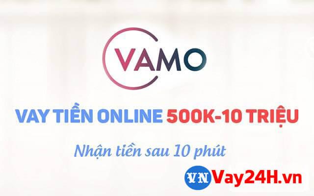 Vay tiền online với vamo