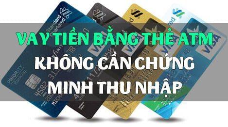 vay tiền trả góp qua thẻ ATM