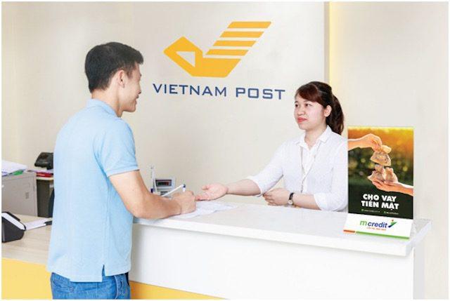 Điều kiện vay tiền mặt tại bưu điện