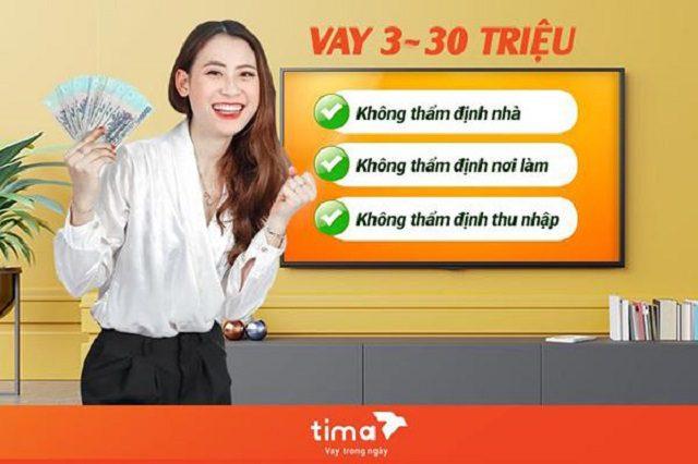 Cầm máy ảnh tại sàn tài chính Tima