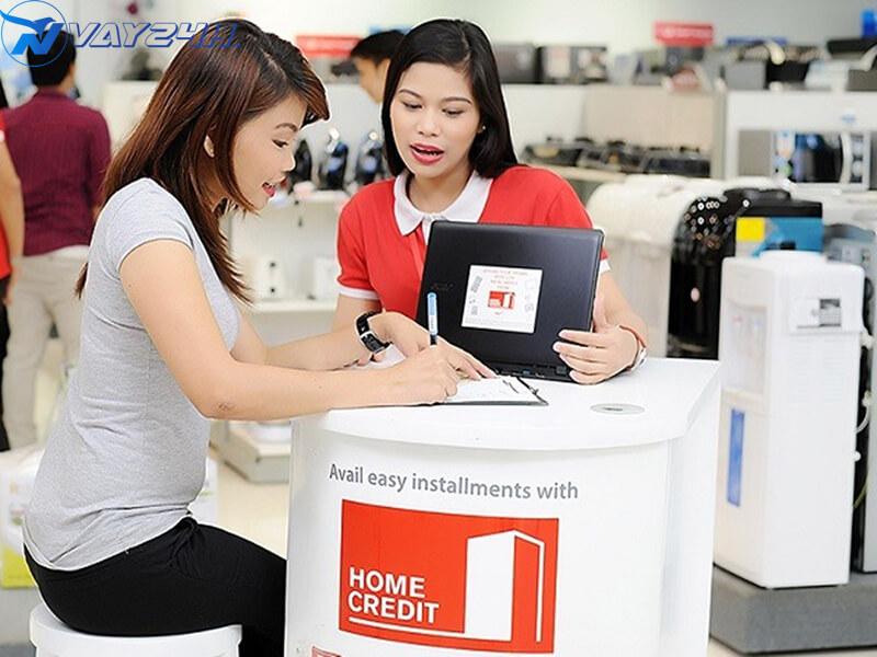 Cách đăng ký vay tiêu dùng trả gốp Home Credit
