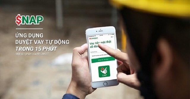 Tải app và đăng ký vay tiền Snap fe dễ dàng