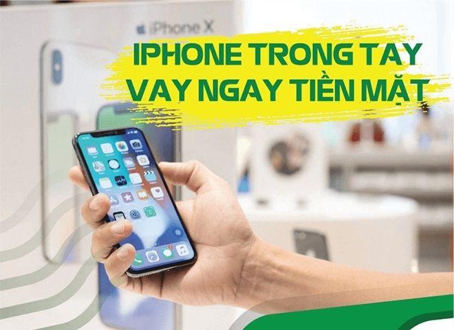 Thủ tục vay tiền bằng iphone icloud