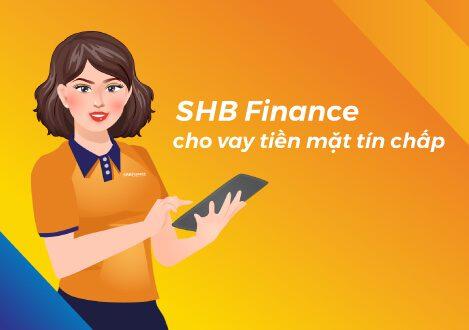 Vay theo sao kê ngân hàng tại shb finance