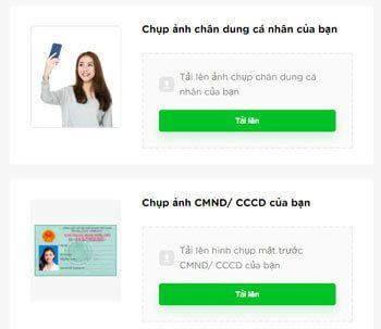 Điền thông tin cá nhân vay tiền Cashwagon