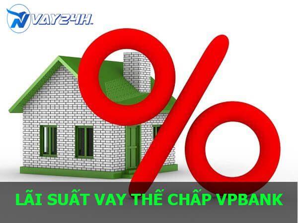 Lãi suất vay thế chấp sỏ đỏ vpbank