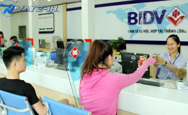 Quy trình vay thế chấp ngân hàng BIDV