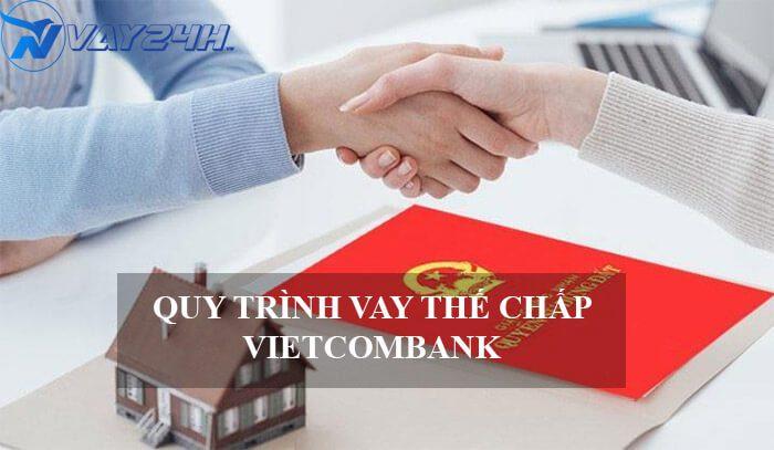 Quy trình vay thế chấp sổ đỏ ngân hàng Vietcombank