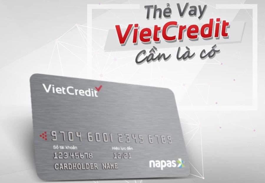 Thẻ vay Vietcredit là gì