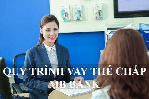 Quy trình vay thế chấp sổ đỏ ngân hàng MB BANK
