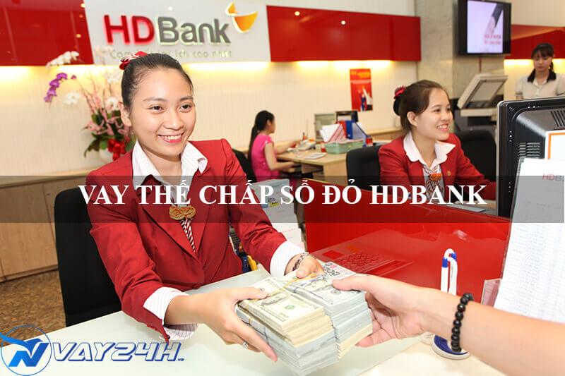 vay thế chấp sổ đỏ HDBANK lãi suất thấp